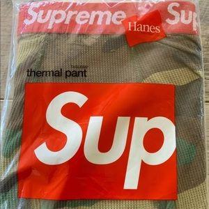 Supreme Thermal Woodland Pants Medium